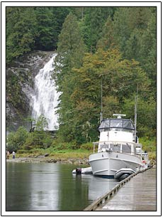 Princess Louisa Inlet boat tour